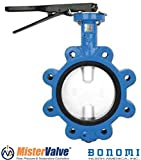 Bonomi N501N Lever operated butterfly valve EPDM