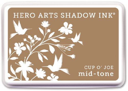 Price comparison product image Hero Arts Rubber Stamps Shadow Ink Mid-Tone, Cup O' Joe