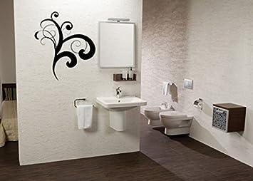 Ecke Verkleidung Aufkleber Wall Art Blumendeko, Wohnzimmer Deko ...