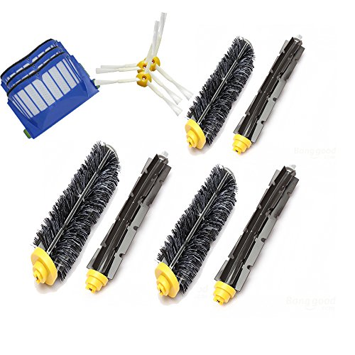 Accessory Kit for Irobot Roomba 595 585 - Includes 3 Pack...