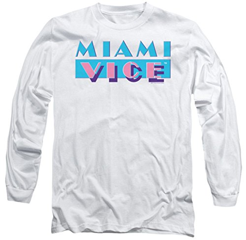Miami Vice Logo Long Sleeve Shirt for Men
