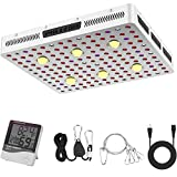Phlizon CREE COB 3000W LED Plant Grow Light Full Spectrum Indoor Plants Light Growing Veg Flower CREE COB Grow Light with Monitor Adjustable Rope -3000W (Actual Power 630watt)