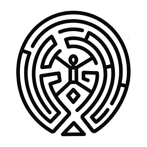 Westworld Maze Black Women's T-Shirt White
