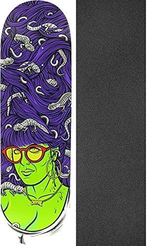 溶岩受け入れパールCreature Skateboards Babes LGスケートボードデッキ – Powerply – 8.8