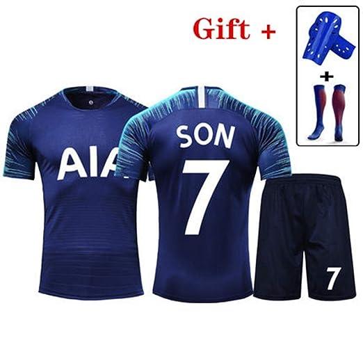 HS-HCF.HW Camiseta de fútbol Tottenham No.7 Heung-Min Son ...