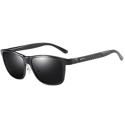 f82572148e6 Amazon.com  Fashion Polarized Wayfarer Sunglasses For Men Retro ...