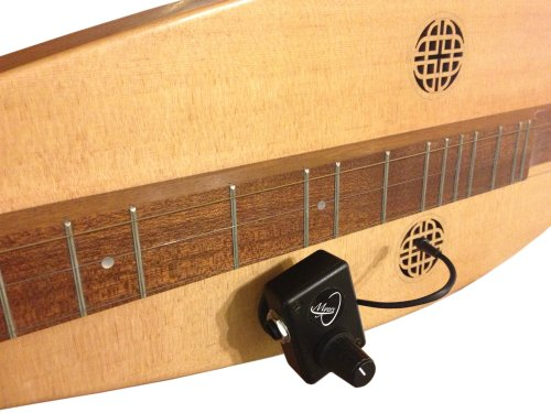 MOUNTAIN DULCIMER PICKUP with FLEXIBLE MICRO-GOOSE NECK by Myers Pickups ~ See it in ACTION! Copy and paste: (Electric Dulcimer)