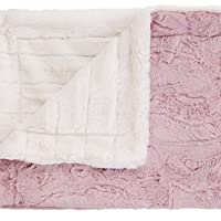 bkb Luxe Cuddle Baby Blanket, Pink