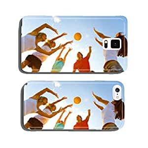 volleyball on the beach cell phone cover case Samsung S6