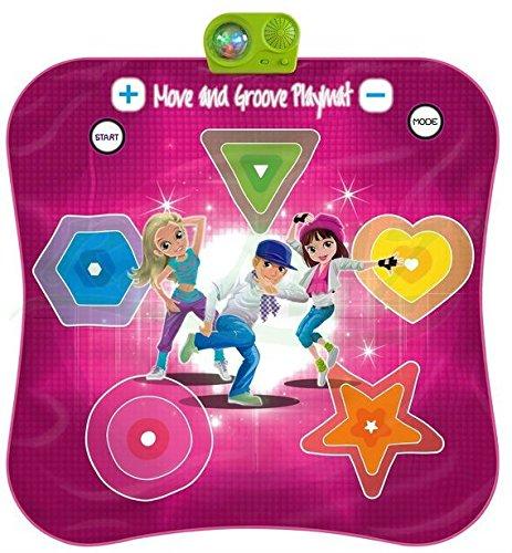 BSD Tapis de Danse Move and Groove Jeu de Societe Twister