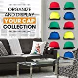 Boxy Concepts Hat Organizer Shelves in Black - Pack