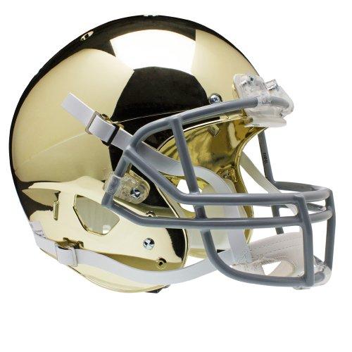 Notre Dame Replica Helmet - NCAA Notre Dame Fighting Irish Replica XP Helmet - Alternate 2 (Chrome)