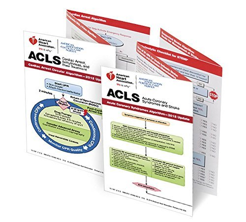 Advanced Cardiovascular Life Support, 2015 Pocket Reference Card Set ()
