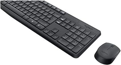Logitech MK235 Combo Teclado y Ratón para Windows, 2,4 GHz con ...