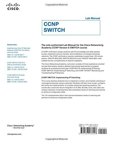 ccnp switch lab manual lab companion amazon co uk cisco rh amazon co uk CCNP Lab Diagram CCNP Lab Equipment