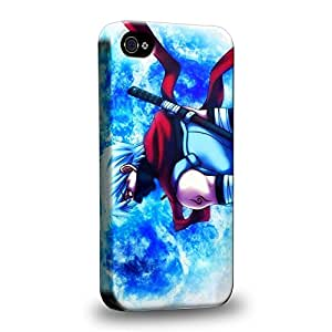 Case88 Premium Designs Hatake Kakashi Carcasa/Funda dura para el Apple iPhone 4 4s