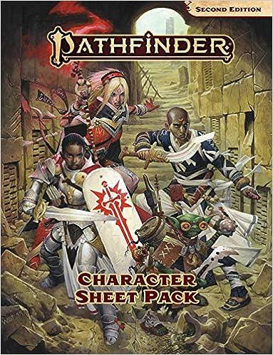 Pathfinder Character Sheet Pack (P2): Logan Bonner, Sarah E