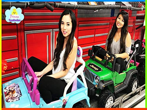 Clip: Toy Hunt with Princess ToysReview for Power Wheel Toys!