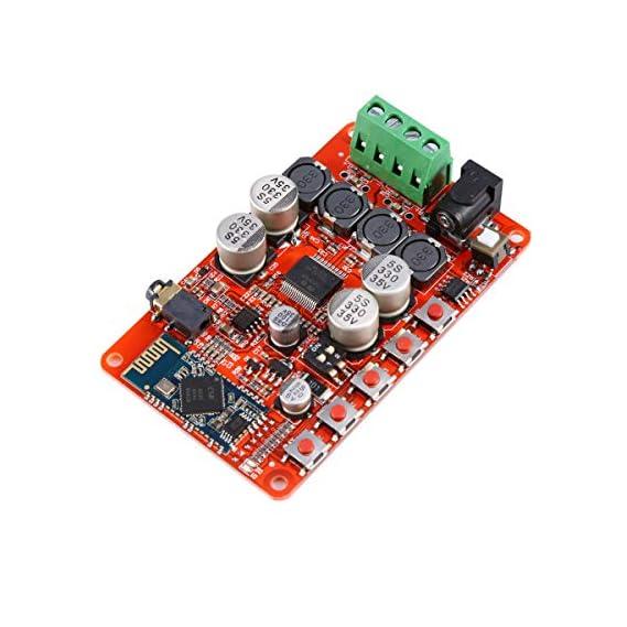 REES52 TDA7492P Wireless Bluetooth Amplifier Board 4.0 TDA7492P 2 x 50 Watt 2 Channel Wireless Amplifier Board Audio
