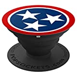 Tennessee Flag Pop Socket - PopSockets Grip and Stand for Phones and Tablets