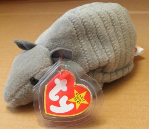 TY Beanie Babies Tank the Armadillo Plush Toy Stuffed for sale  Delivered anywhere in USA