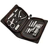 Sourcingbay 9in1 Stainless Steel Nail Clippers Manicure Set