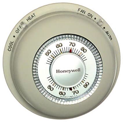 honeywell t87n1000 heat cool thermostat white programmable rh amazon com