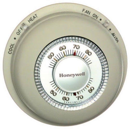 Honeywell T87N1000 Tradeline Thermostat Electronic, Heat/Cool, WHITE