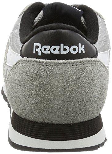 Top Mgh Solid White Grey Black Herren Reebok Nylon Grau Classic Tracksuit Low XFySAwq