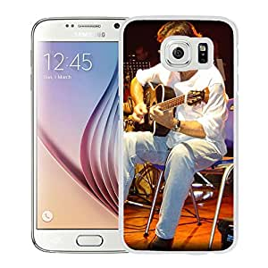 Beautiful Designed Cover Case With Al Di Meola Scene Show Instruments Microphone (2) For Samsung Galaxy S6 Phone Case