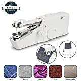 Portable Sewing Machine Mini Cordless Handheld Electric Household Stitch Tool for Fabric/Clothing/ Kids Cloth Perfect for Home Travel Use