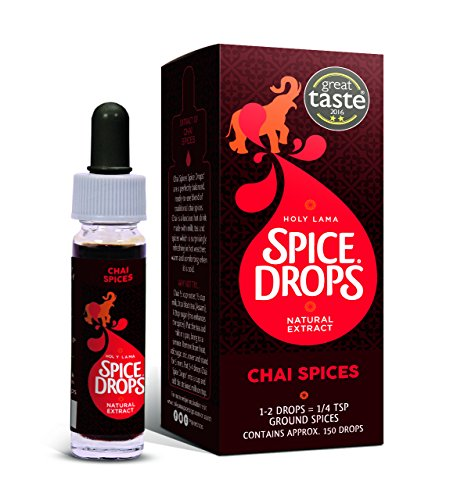 Holy Lama Natural Chai Tea Masala Spice Drops (5ml)