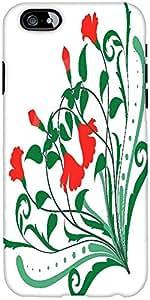 Esquina Snoogg Diseños Florales Diseñador Protectora Volver Funda Para El Iph...