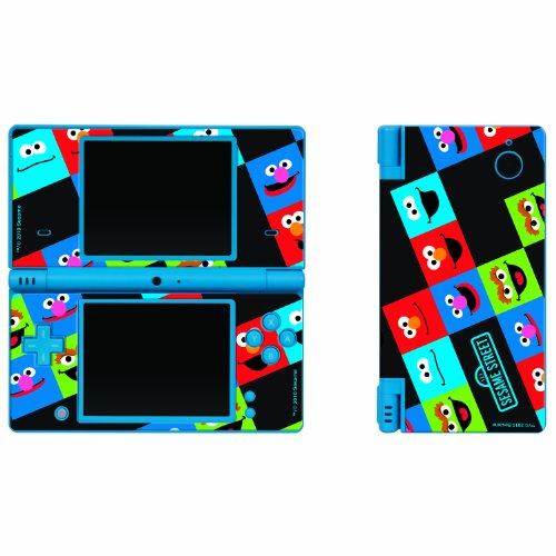 - Nintendo DSi Sesame Street Friends 3 Piece Decal Set