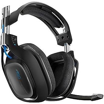 Astro Videojuego A50 Inalámbrico Auriculares - Negro (PS4) (certificado RECONSTRUIDO)