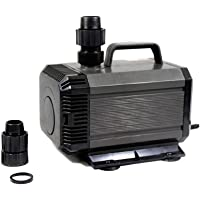 Hengbo Submersible Water Pump 60W Multi-Function Power Head 2500L/H for Fountain, Aquarium, Pond, Hydroponics - HQB-3000