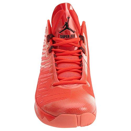 Jordan Nike Herren Super.Fly 5 Basketballschuh Infrarot 23 / Schwarz-Hell