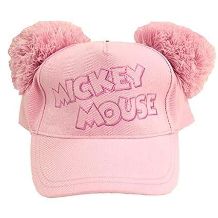 Amazon.com: Mickey Mouse pompón gorra sombrero (morado ...