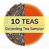 10 Exotic Darjeeling,  Premium Tea Sampler  - Includes  Exotic 2016 Harvest Loose Leaf Teas,First Flush, Second Flush & Autumn Flush Season Darjeeling Teas - 0.35oz 10 Teas Each - India ...