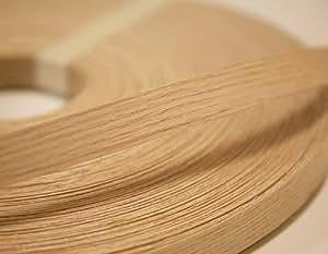 Red Oak Wood Edge Banding Tape 7/8'' 25' Roll