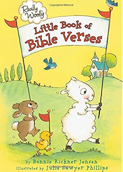 Really Woolly Little Book Of Bible Verses Dayspring Jensen Bonnie Rickner 9781400318063 Amazon Com Books