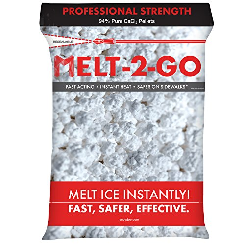 Snow Joe AZ-50-CCP Melt-2-Go 94% Pure Calcium Chloride Pellet Ice Melter, 50-lb Resealable Bag by Snow Joe (Image #3)