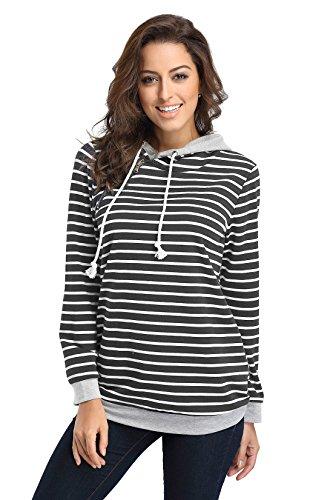 Cotton Striped Sweatshirt - 3