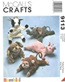 McCall's 9113 - Bambini Animal Bean Bags - Best Reviews Guide