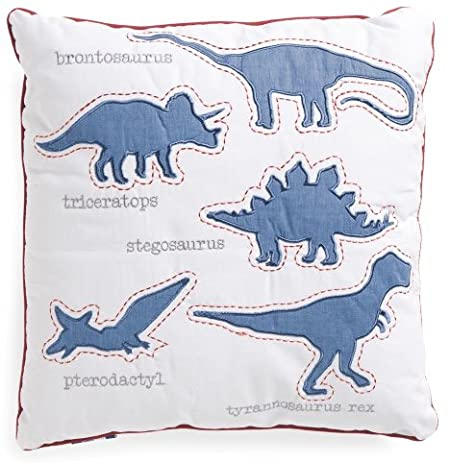 Amazon Decorative DINOSAURS Throw Pillow 40 X 40 X 40 Inches Classy Max Studio Home Decorative Pillow