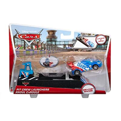 Disney Cars Pit Crew Launchers, Raoul CaRoule: Toys & Games