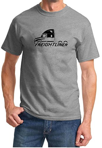 Freightliner Cascadia Truck Classic Outline Design Tshirt 3XL (Freightliner Apparel)