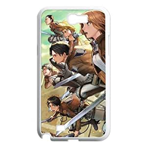 Attack On Titan Samsung Galaxy N2 7100 Cell Phone Case White persent xxy002_6937153