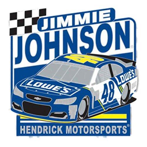 Wincraft Jimmie Johnson #48 NASCAR Lowe's Hendrick Motorsports Metal Lapel - Pins Nascar