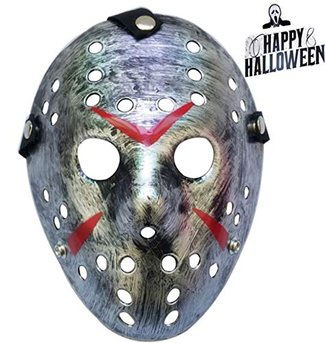 Junyulim Halloween Mask Freddy Wars Jason Mask Cosplay Halloween Mask Party Mask -